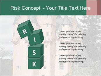 Baronial Craigievar Castle PowerPoint Template - Slide 81