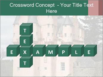 Baronial Craigievar Castle PowerPoint Template - Slide 82