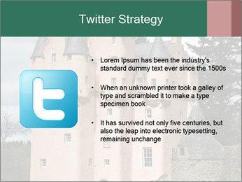 Baronial Craigievar Castle PowerPoint Template - Slide 9