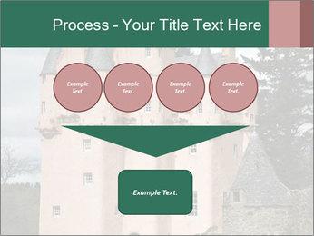 Baronial Craigievar Castle PowerPoint Template - Slide 93