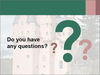 Baronial Craigievar Castle PowerPoint Template - Slide 96