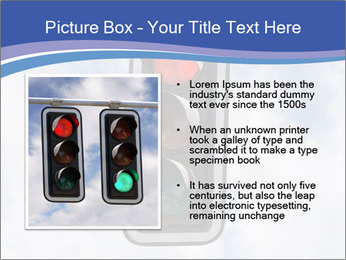 Red traffic lights PowerPoint Template - Slide 13