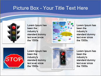 Red traffic lights PowerPoint Template - Slide 14