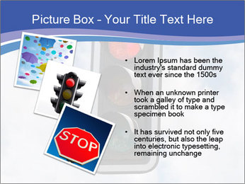 Red traffic lights PowerPoint Template - Slide 17