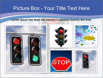 Red traffic lights PowerPoint Template - Slide 19