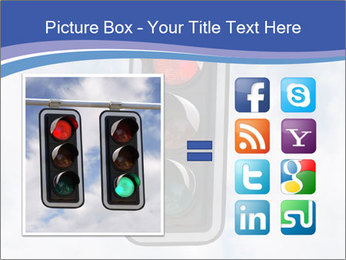 Red traffic lights PowerPoint Template - Slide 21