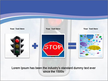 Red traffic lights PowerPoint Template - Slide 22