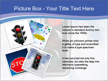 Red traffic lights PowerPoint Template - Slide 23