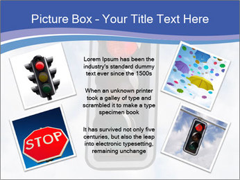 Red traffic lights PowerPoint Template - Slide 24