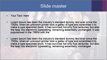 Fortune teller PowerPoint Template - Slide 2
