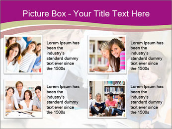 Group of students PowerPoint Templates - Slide 14