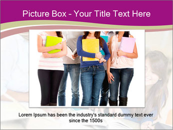 Group of students PowerPoint Templates - Slide 16