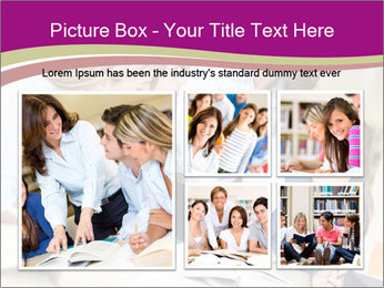 Group of students PowerPoint Templates - Slide 19