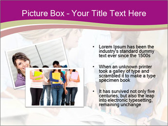 Group of students PowerPoint Templates - Slide 20