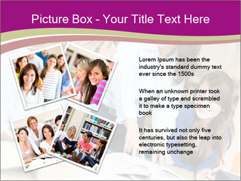 Group of students PowerPoint Templates - Slide 23