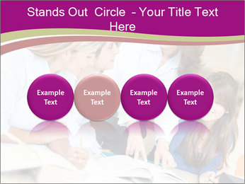 Group of students PowerPoint Templates - Slide 76