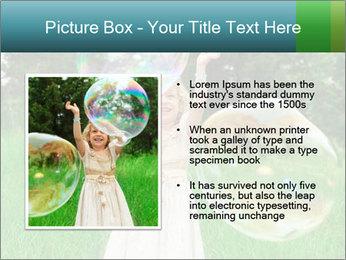 Pretty little girl PowerPoint Templates - Slide 13