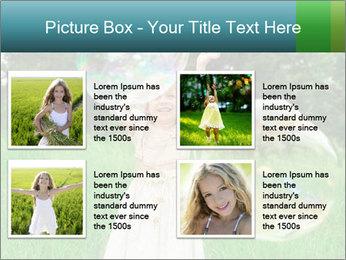 Pretty little girl PowerPoint Templates - Slide 14