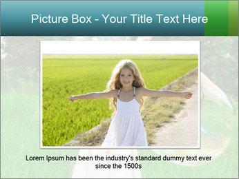 Pretty little girl PowerPoint Templates - Slide 15