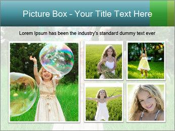 Pretty little girl PowerPoint Templates - Slide 19
