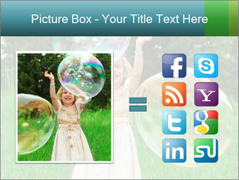Pretty little girl PowerPoint Templates - Slide 21