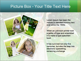 Pretty little girl PowerPoint Templates - Slide 23