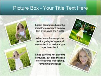 Pretty little girl PowerPoint Templates - Slide 24