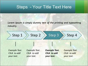 Pretty little girl PowerPoint Templates - Slide 4