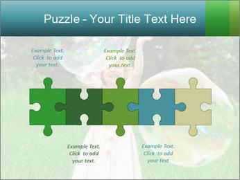 Pretty little girl PowerPoint Templates - Slide 41