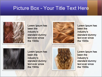 Beautiful hair PowerPoint Template - Slide 14