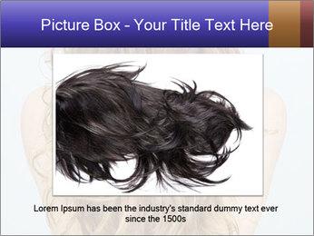 Beautiful hair PowerPoint Template - Slide 15