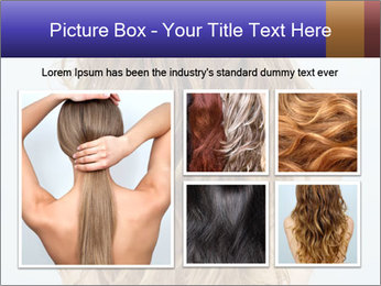 Beautiful hair PowerPoint Template - Slide 19