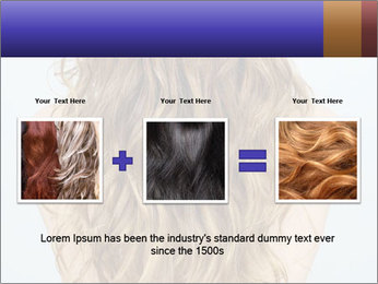 Beautiful hair PowerPoint Template - Slide 22