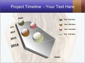 Beautiful hair PowerPoint Template - Slide 26