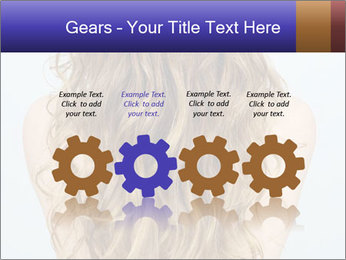 Beautiful hair PowerPoint Template - Slide 48