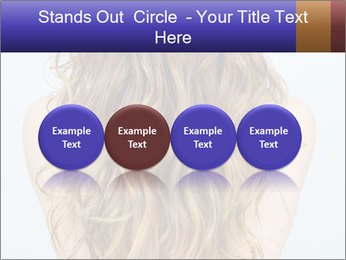 Beautiful hair PowerPoint Template - Slide 76
