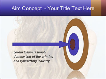 Beautiful hair PowerPoint Template - Slide 83
