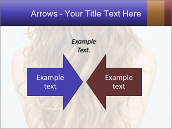 Beautiful hair PowerPoint Template - Slide 90