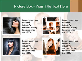 Fashion hairstyle PowerPoint Template - Slide 14