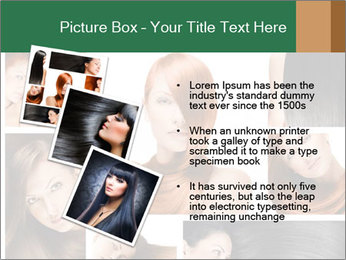 Fashion hairstyle PowerPoint Template - Slide 17