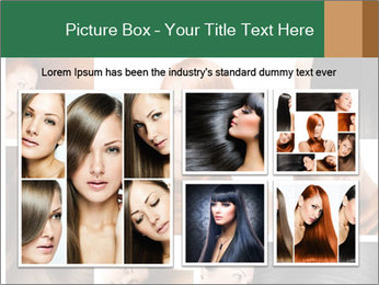 Fashion hairstyle PowerPoint Template - Slide 19