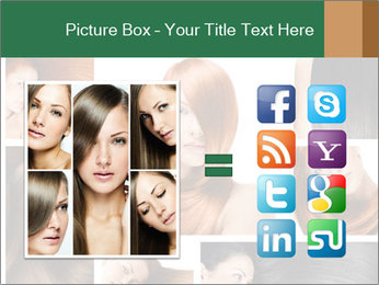 Fashion hairstyle PowerPoint Template - Slide 21