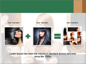 Fashion hairstyle PowerPoint Template - Slide 22