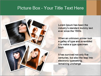 Fashion hairstyle PowerPoint Template - Slide 23