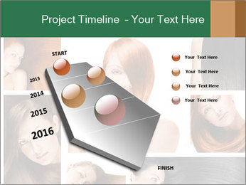 Fashion hairstyle PowerPoint Template - Slide 26