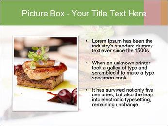 Fried foie gras PowerPoint Template - Slide 13