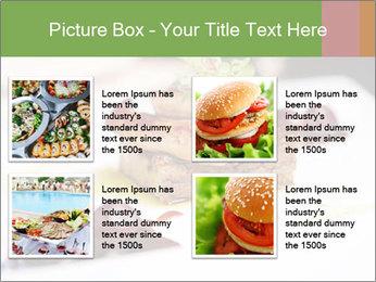 Fried foie gras PowerPoint Template - Slide 14