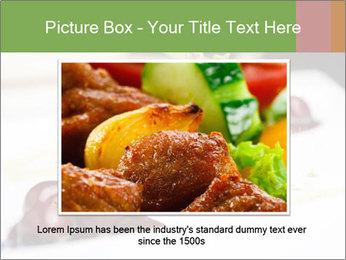 Fried foie gras PowerPoint Template - Slide 16