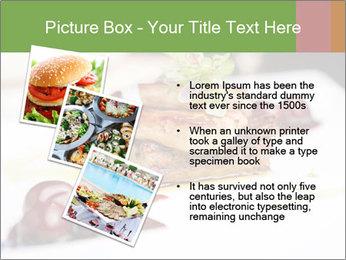 Fried foie gras PowerPoint Template - Slide 17