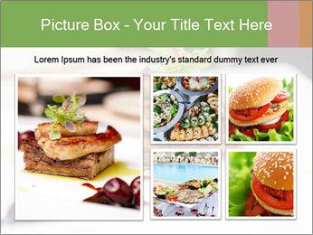 Fried foie gras PowerPoint Template - Slide 19